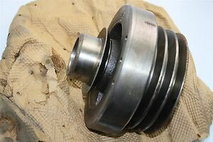 Caterpillar 1w6760 Damper As crankshaft Vibration Pulley Cat 3208 Diesel Engine