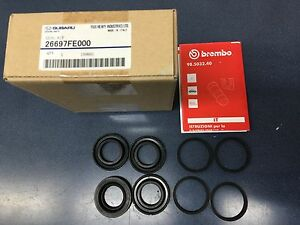 Genuine Oem Subaru Brembo Rear Caliper Reseal Kit 2004 2007 Impreza Sti New