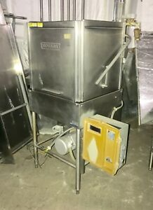 Hobart Commercial High temp Dishwasher W Upper And Lower Wash Arms