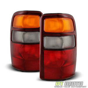 2000 2003 Chevy Suburban Tahoe Gmc Yukon Xl Brake Tail Lights Lamps Left Right