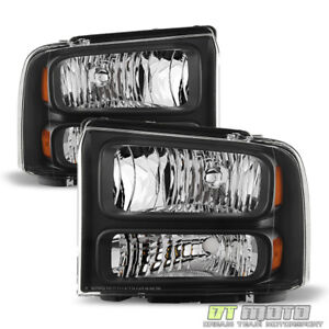 2005 2007 Ford F250 F350 F450 Superduty Sd Harley Davidson Headlights Headlamps