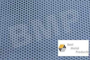 304 Stainless Steel Perforated Sheet 040 X 12 X 18 1 8 Holes 0600101