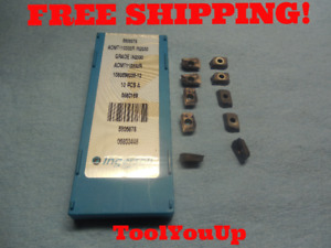 10pcs New Ingersoll Aomt 110332 R Grade In2030 Face Mill Inserts Tooling Tools