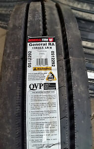 8 tires 11r22 5 Tires General Ra All Position 16pr Tire 11 22 5 Usa Made 11225