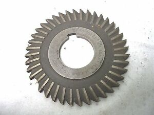 Used Milling Cutter 3 X 135 X 1 Saw Slotting One Broken Tooth