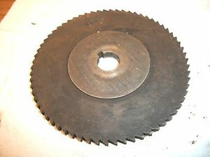 Used Milling Cutter 4 X 187 X 55 Saw Slotting