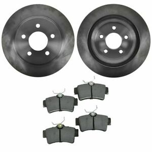 Rear Disc Posi Metallic Brake Pads Rotors Kit Set For 94 04 Ford Mustang Cobra