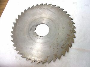 Used Milling Cutter 5 X 3 32 X 1 Saw Slotting Dtd Co Hs
