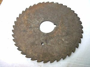 Used Milling Cutter 5 X 156 X 1 Saw Slotting