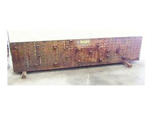 133 X 28 X 24 Angle Plate Work Holding Fixture