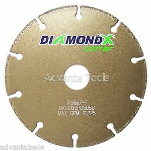 5 Metal Cutting Diamond Blade Cut off Wheel Type 1 For Angle Grinders