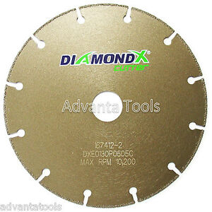 6 Metal Cutting Diamond Blade Cut off Wheel Type 1 For Angle Grinders