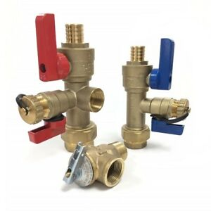 Pex 3 4 Tankless Water Heater Valve Kit Natural Gas Propane Electric