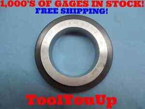 3 8348 Class X Master Plain Smooth I d Ring Gage To Calibrate Dial Bore Tooling