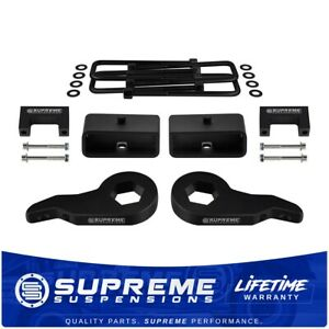 For 92 99 Chevy Suburban Tahoe Gmc Yukon 1500 3 F 2 R Lift Kit Level Ext