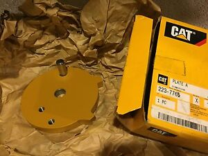 223 7765 Cat Plate Caterpillar 2237765 Fits D3g D4g D5g