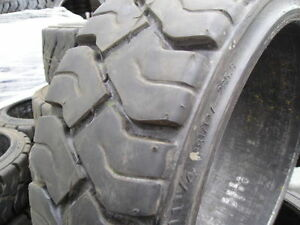 Used 15x5x11 1 4 Tires Solid Forklift Mitsubishi Caterpillar 15x5x11 25 15511