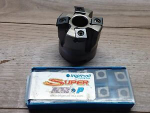 Nice Ingersoll Sp6h 2 Indexable Face Mill Inserts