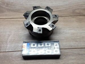 Nice Iscar Htp 4 Indexable Face Mill Inserts