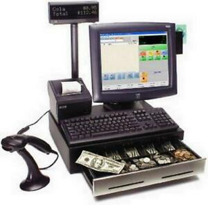 Point Of Sale Store Pos Cre Compatible W Quickbooks Wic Ebt Debit Emv Ready New