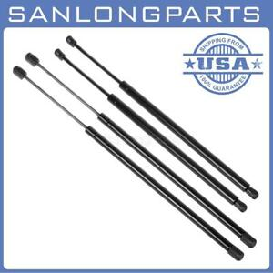 Qty 4 Rear Hatch Glass Window Lift Support Shocks Struts For Xl Ext Only