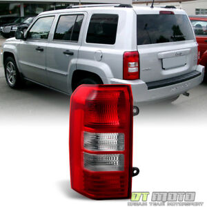 2008 2017 Jeep Patriot Brake Tail Lights Lamp Left Driver Side Replacement 08 17