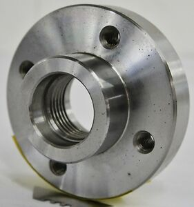 4 5 16 Lathe Chuck Adapter Plate 1 1 2 8 Spindle Mount Plain Back Usa