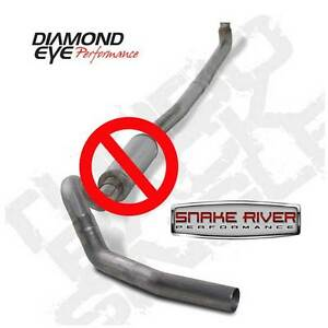 Diamond Eye 4 Stainless Exhaust 01 07 Chevy Gmc Duramax Diesel 6 6l No Muffler