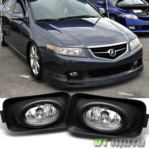 2004 2005 Acura Tsx Bumper Fog Lights Lamps Switch Wiring Bulbs 04 05 Left Right