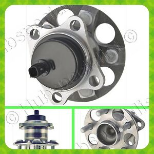 Rear Wheel Hub Bearing Assembly For Toyota Prius 2010 2015 Single Fast Shipping