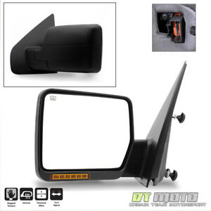 Driver Side 2004 2006 Ford F150 Truck Power Heated View Mirror W Led Signal Left