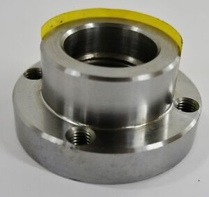 3 1 4 Lathe Chuck Adapter Plate 1 1 2 8 Spindle Mount Plain Back Usa