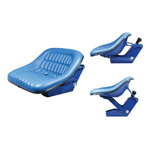 Seat Assembly Vinyl Blue Ford 5600 5000 2600 4600 2000 6600 3000 3600 4000 4110