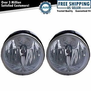 Fog Driving Lights Lamps Left Right Pair Set For 04 Jeep Grand Cherokee