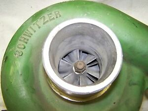 Schwitzer Model Turbo Charger John Deere 8630 4le302 Ar80135