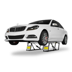 Quickjack Portable Car Lift Ranger Bendpak 5000 Lb Capacity 110 Volt Bl 5000slx