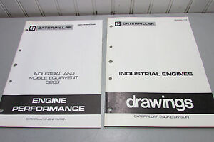 Caterpillar Industrial And Mobile Equipment 3208 Performance Data Book Drawing