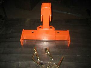 Omni 3 Point Combo Kubota Bx Series Sub Compact Tractor Trailer Hitch W Pins