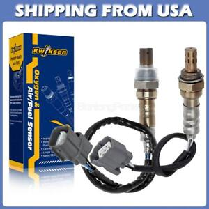 2x Air Fuel Ratio Oxygen Sensor Up Downstream For 02 03 04 Acura Rsx Type S 2 0l