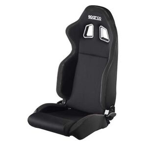 Sparco 00961nrnr R100 Series Racing Seat Black Black