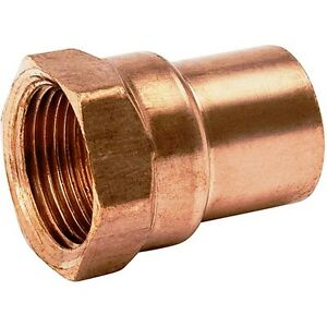 bag Of 25 1 2 Copper Female Adapter Sweat Solder Joint C X Fip