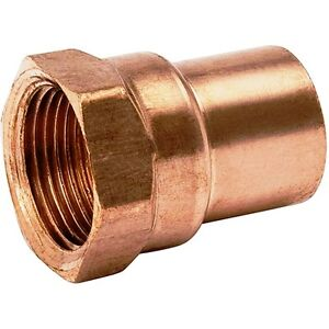 bag Of 25 3 4 Copper Female Adapter Sweat Solder Joint C X Fip