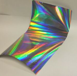 Longlife Overall Oil Slick Rainbow Holographic Sign Vinyl 24 Inch X 75 Feet