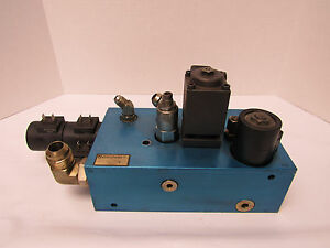 Fluid Power Mfg P n 241295aa Hydraulic Control Valve