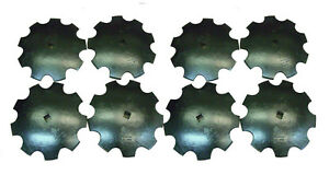 Notched Disc Harrow Blades 8 18 1 Or 1 1 8 Square Shaft Heavy Duty