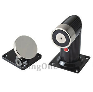 Electric Magnet Fire Door Holder 70kg Holding Force Floor Mount Hold