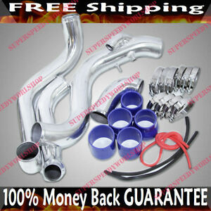 Intercooler Piping Kits clamps silicone Hoses For 95 99 Nissan 240sx S14 Sr20det
