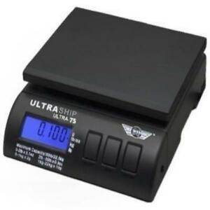 Ultraship 75 Lb Electronic Digital Shipping Postal Kitchen Scale New Gift