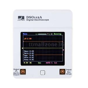 Dso 112a Tft Touch Screen Portable Mini Usb Digital Oscilloscope 2mhz 5msps Tool