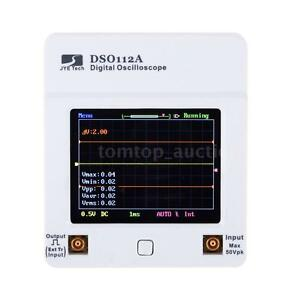 Mini Pocket sized Digital Storage Oscilloscope Tft Touch Screen 2mhz 5msps M8z2